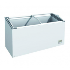 ABLE WELL Chest Freezer - Curved Glass Lid F300 OCG