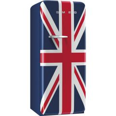 SMEG Classic Fridge - 50's style Refrigerator with Ice Compartment (Union Jack) FAB28RUJ1