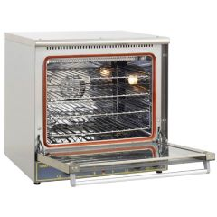 ROLLER GRILL Convection Oven with Top Infrared Quartz Salamander & Bottom Armoured Heating Element FC-60TQ