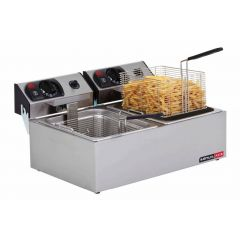 ANVIL Electric Double Tank Deep Fryer FFA2002