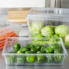 RUBBERMAID Food Box Clear