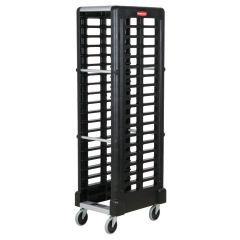 RUBBERMAID 18 Slot End Loader Rack (Full Size Insert Pans) FG331700BLA