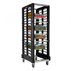 RUBBERMAID 18 Slot End Loader (Food Boxes and Sheet Pans) FG332000BLA