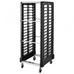 RUBBERMAID 18 Slot Dual Loader (Full Size Insert Pans) FG332400BLA