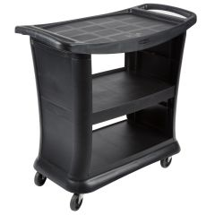 RUBBERMAID Executive Service Cart FG9T6800BLA