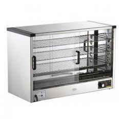 MSM Countertop Food Display Warmer (560 x 350 x 520)mm MSM-301