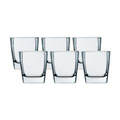 LUMINARC Sterling 6PC Old Fashioned Glass Set G2564