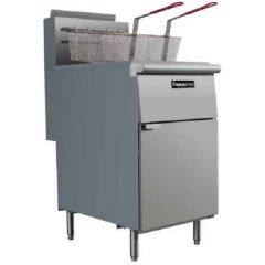 THERMA-TEK FREE STANDING GAS FRYER W/ 2 FRY BASKET