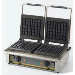 ROLLER GRILL Double Square Waffle Baker GED-10