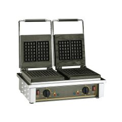ROLLER GRILL Double Square Waffle Baker GED-20