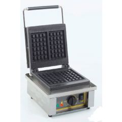 ROLLER GRILL Single Square Waffle Baker GES-20