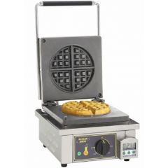 ROLLER GRILL Single Round Waffle Baker GES-75