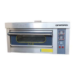 ORIMAS Industrial Stainless Steel Gas Oven 1 Deck GR-1M