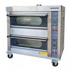 ORIMAS Industrial Stainless Steel Gas Oven 2 Deck GR-4M