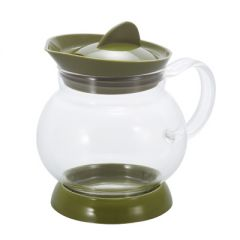 HARIO Jumping Tea Server / Olive Green (350ML) JTS-35-OG