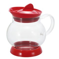 HARIO Jumping Tea Server / Red (350ML) JTS-35-R