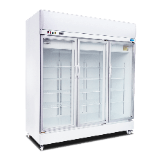 SNOW 3 Door Display Upright Freezer | 1846 x 735 x 2075 (N/A Frame - Normal Silver Colour) LY1500BBF-H