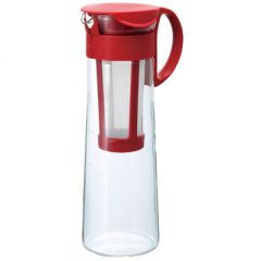 HARIO Mizudashi (Cold Brew) Coffee Pot 14 / Red (8 Cups / Brewed Volume 1,000ML) MCPN-14BR