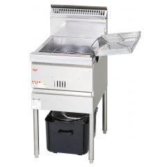 MARUZEN Cool Kitchen Series Gas Fryer (450mm) MGF-CE16