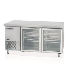 MODELUX GLASS 2 DOOR COUNTER CHILLER MGRT-2D6-1500
