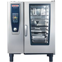 RATIONAL SelfCooking Center Electric Combi Oven 10 Tray 1/1 GN (3NAC 415V) SCC 101E
