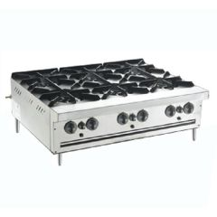 MSM 6 Open Burner Counter Top Range MSM-6-OB