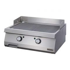 OZTI Double Gas Countertop Grill (Groove)Plate OGG-8070N