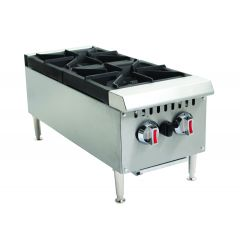 CHEFONIC 2 Open Burner Counter Top Range WJRH12