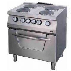 OZTI Countertop 4 Electric Cooker With Oven OSOEF-8070