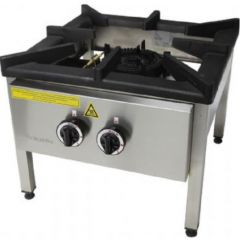 OZTI Floor Gas Cooker (Double Flame) OYOG-505-PS