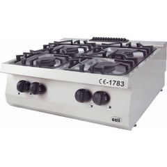OZTI Countertop 4 Open Burner OSOG-8070