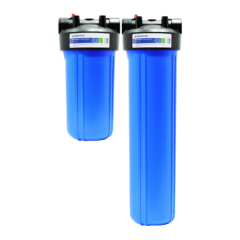 """PENTAIR 10"""" & 20"""" Two Stage Filtration PAK B.2"""