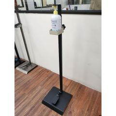Hand Free Sanitizer Stand (Black)