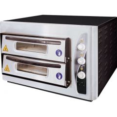 MAKSAN Double Deck Pizza Oven PO-402