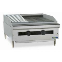 POWERLINE Char Rock Broiler PTC24-24CRBL