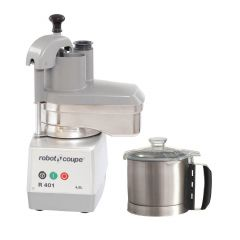 ROBOT COUPE Food Processors: Cutters and Vegetable Slicers R 401A
