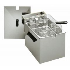ROLLER GRILL Single Tank Electric Counter-Top Fryer RF8S
