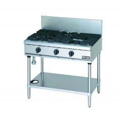 MARUZEN Power Cook Gas Table with Universal 3 Burner (900mm) RGT-0963C