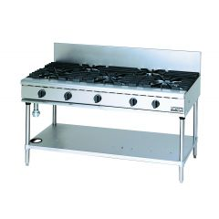 MARUZEN Power Cook Gas Table with Universal 5 Burner (1200mm) RGT-1265C