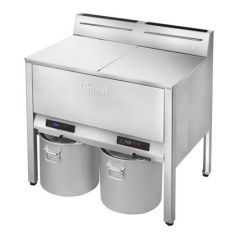 RINNAI Twin Tank Floor-Standing Gas Fryer With Safety Valve RFA-427G