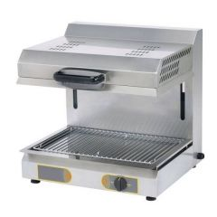 ROLLER GRILL Movable Roof Electric Salamander SEM-600Q