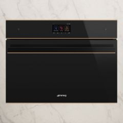 SMEG DOLCE STIL NOVO Combination Microwave Oven with grill SF4604WMCNR