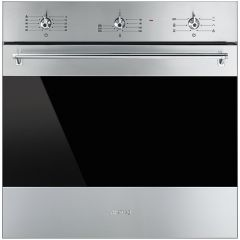 SMEG 60cm SS Classic Series Multifunction Oven SF6381X