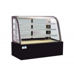 FRESH Curved Glass Cake Showcase (3 Shelves) FC34SC