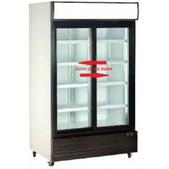 AR Black Frame Sliding Glass Door Display Chiller (680 litres) ARH-S683