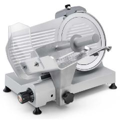 "SIRMAN 10"" Manual Meat Slicer with Painted Aluminium Body & Anodized Aluminium Components SMART 250"