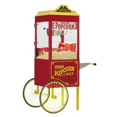 CRETORS 6oz Goldrush Antique Popper with Wagon Base Popcorn Machine 6GAP-WB