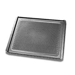 UNOX 460x330 Black Bake Teflon Perforated Tray TG330