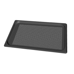 UNOX GN1/1 Black Bake - Perforated Teflon Coated Aluminium Pan TG890