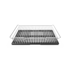 UNOX COOKING ESSENTIALS GN 1/1 ALUMINIUM RIBBED-PERFORATED PLATE TG970